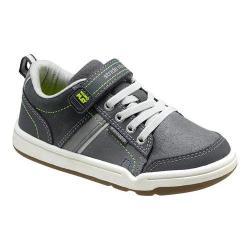 Boys' Stride Rite Made 2 Play Kaleb Sneaker - Kid Grey Suede