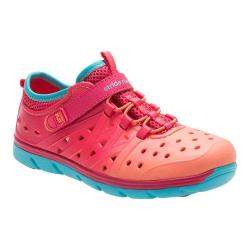 Girls' Stride Rite Made 2 Play Phibian Coral/Turquoise EVA|https://ak1.ostkcdn.com/images/products/194/264/P23485553.jpg?_ostk_perf_=percv&impolicy=medium