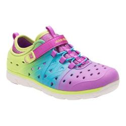 Girls' Stride Rite Made 2 Play Phibian Magenta Multi EVA
