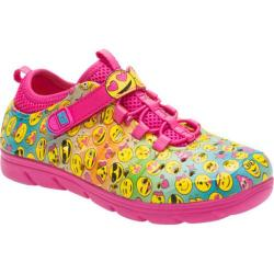 Girls' Stride Rite Made 2 Play Phibian Pink Emoji EVA