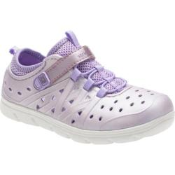 Girls' Stride Rite Made 2 Play Phibian Purple Metallic EVA