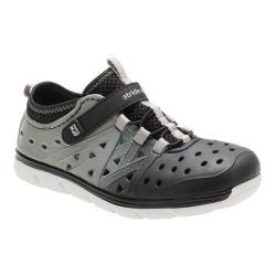 Boys' Stride Rite Made 2 Play Phibian Black/Grey EVA