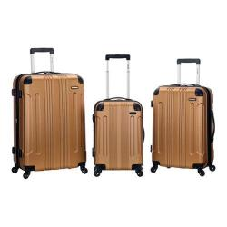 Rockland 3 Piece Sonic ABS Upright Set F190 Gold