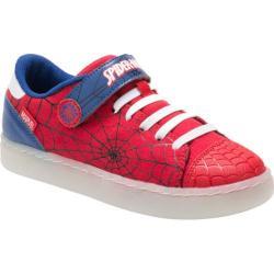 Boys' Stride Rite Spider-Man Web Warrior Sneaker - Preschool Red Canvas/Synthetic