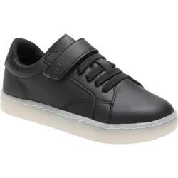 Children's Stride Rite SR Lighted Ray Light Up Sneaker - Preschool Black/White Leather