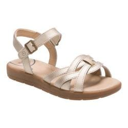 Girls' Stride Rite SR Millie Sandal Gold Leather