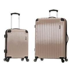 Rockland Santorini 2 Piece Spinner Luggage Set F235 Beige