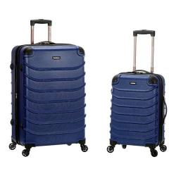 Rockland Speciale 2 Piece Spinner Luggage Set F230 Blue