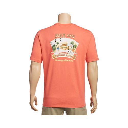 9d082667 Shop Men's Tommy Bahama Bet On A Shore Thing Tee Fusion - Free Shipping On  Orders Over $45 - Overstock - 17229436