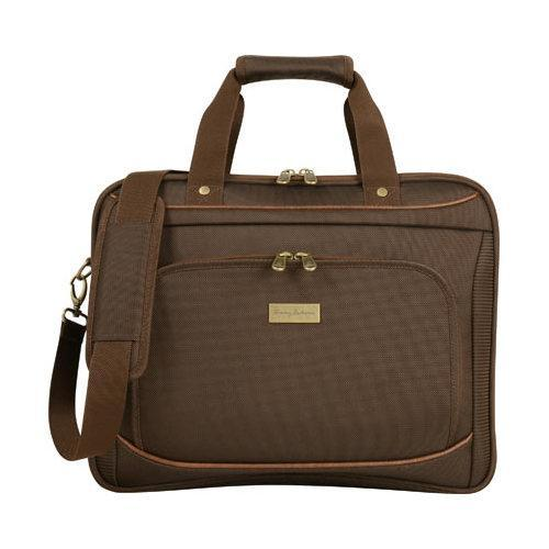 61e765f283a Shop Tommy Bahama Harbor Elua 16in Briefcase Brown - Free Shipping Today -  Overstock - 17229459