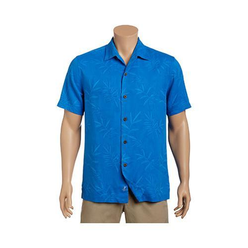 790b78db Shop Men's Tommy Bahama Luau Floral Short Sleeve Button Down Shirt Download  Blue - Free Shipping Today - Overstock - 17229477