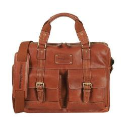 Tommy Bahama Back 9 Briefcase Cognac