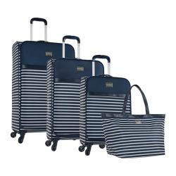 Tommy Bahama Cancun 4 Piece Luggage Set Blue
