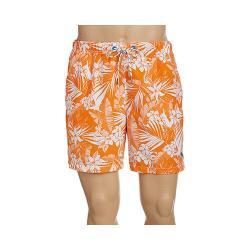 Men's Tommy Bahama Naples Plumeria Paradise 6in Swim Trunk California Poppy