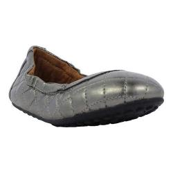 Girls' Umi Clea Toddler Flat Pewter Leather