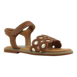Girls' Umi Finley Sandal Little Kid Saddle Tan Leather