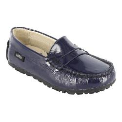 Girls' Umi Morie B Dark Navy Patent