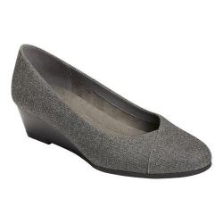 Women's A2 by Aerosoles First Love Wedge Grey Fabric