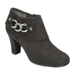 Women's A2 by Aerosoles First Role Bootie Black Faux Suede