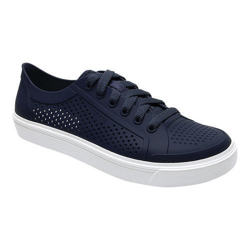 51139906e Shop Women s Crocs CitiLane Roka Court Sneaker Navy - Free Shipping ...