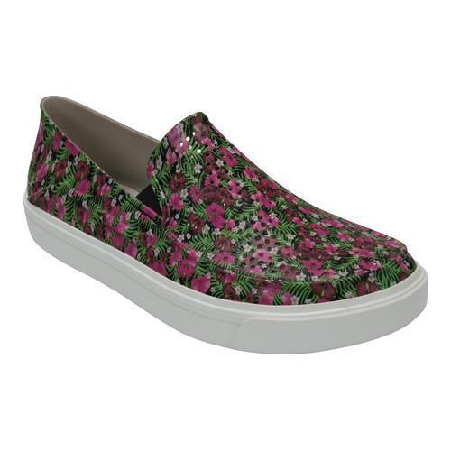 da3a495b2 Shop Women s Crocs CitiLane Roka Graphic Slip-On Black Floral - Free  Shipping Today - Overstock - 17264044