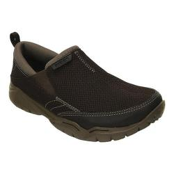 Men's Crocs Swiftwater Mesh Moc Slip-on Espresso/Walnut