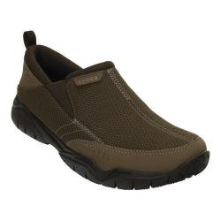 Men's Crocs Swiftwater Mesh Moc Slip-on Walnut/Espresso