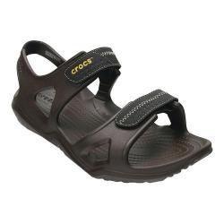 Men's Crocs Swiftwater River Sandal Espresso/Black