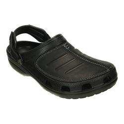 Men's Crocs Yukon Mesa Clog Black/Black