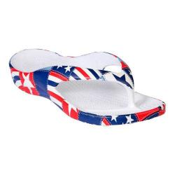 Children's Dawgs Loudmouth Flip Flop Betsy Ross