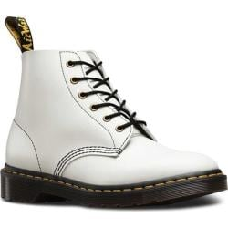 Dr. Martens 101 6-Eye Boot White Smooth Leather