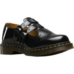 Women's Dr. Martens 8065 Double Strap Mary Jane DML Black Patent Lamper Leather