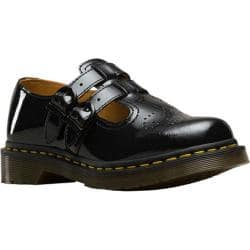 Women's Dr. Martens 8065 Double Strap Mary Jane DML Black Patent Lamper Leather|https://ak1.ostkcdn.com/images/products/194/591/P23516203.jpg?impolicy=medium