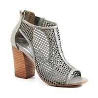 Women's Diba True Ivy Wall Bootie Grey Leather