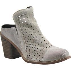 Women's Diba True Line Drive Mule Ash Suede/Leather