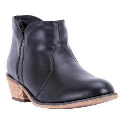 Women's Dingo Socorro DI8970 Ankle Boot Black Synthetic