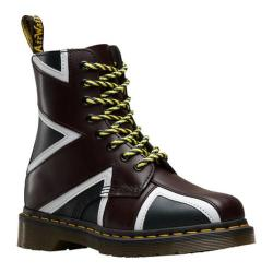 Dr. Martens Pascal 8-Eye Boot Navy/Oxblood/White Smooth Leather/PU