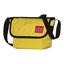 Manhattan Portage Quilted Mini NY Messenger Bag Yellow