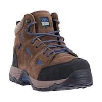 Men's McRae Industrial Non Metallic Composite Toe MR83716 Brown Suede