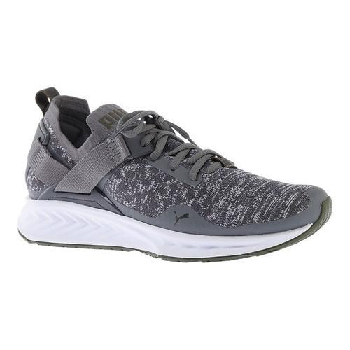 ea8d04701cb89 Thumbnail Men's PUMA IGNITE evoKNIT Lo Sneaker Quiet Shade/PUMA White  ...