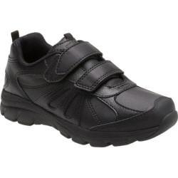Boys' Stride Rite Cooper 2.0 Hook and Loop Sneaker - Preschool Black Leather