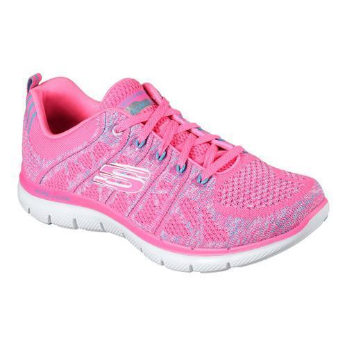 Shop Damens's Skechers Flex Gem Appeal 2.0 New Gem Flex Training Sneaker Hot ... 70d367