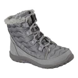 Women's Skechers Reggae Fest Vector Cold Weather Boot Grey