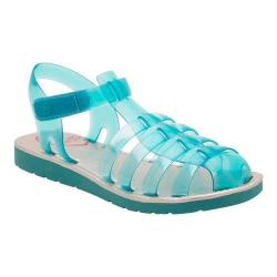 Girls' Stride Rite SR Natalie Jelly Sandal Turquoise Synthetic (More options available)