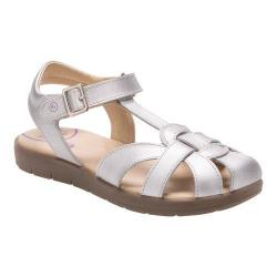 Girls' Stride Rite SR Summer Time Sandal Silver Leather (More options available)