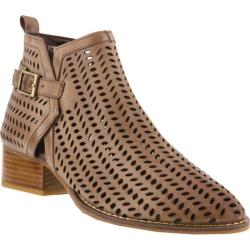Women's Spring Step Andrey Bootie Taupe Leather