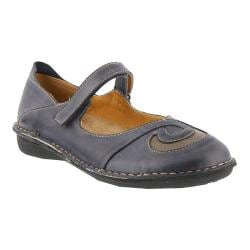 Women's Spring Step Cosmic Blue Leather