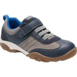 Boys' Stride Rite SRT Prescott Sneaker - Preschool Navy/Stone Leather