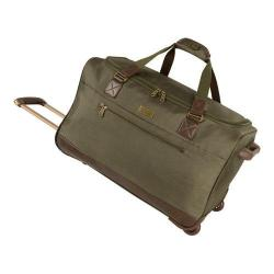 Tommy Bahama Surge 24in Wheeled Duffle Olive/Brown