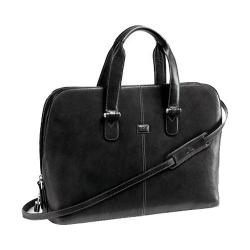 Tony Perotti Classic Zip Around Laptop Bag Black